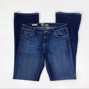 Kut from the Kloth 6 Farrah Baby Bootcut Jeans